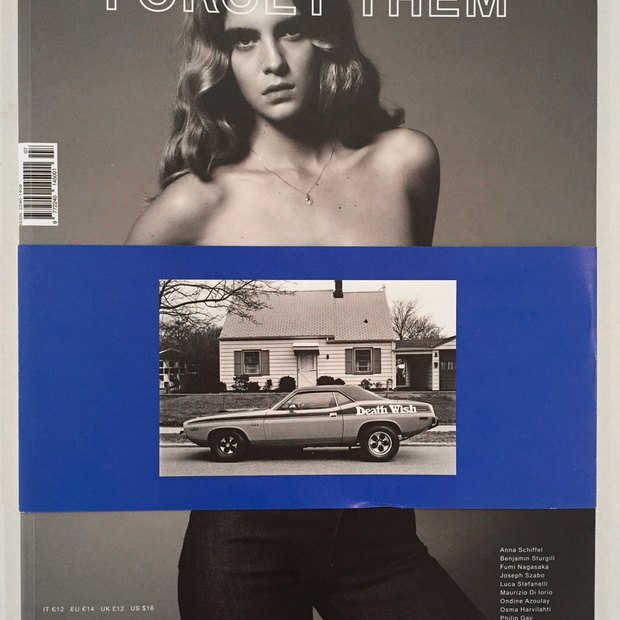 Read Joseph Szabo's interview by Antonio Scoccimarro on his 48 page spread in Forget Them Magazine.